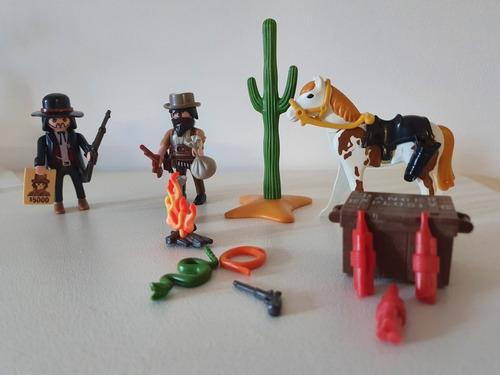 Playmobil Bandido Lejano Oeste, Ref: 5608 Western. Completo