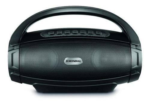 Alto-falante Mondial Monster Sound Ii Portátil Com Bluetooth Preto 110v/220v