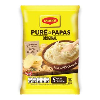 Pure De Papas Maggi Instantaneo X 125g Rinde 5 Porciones