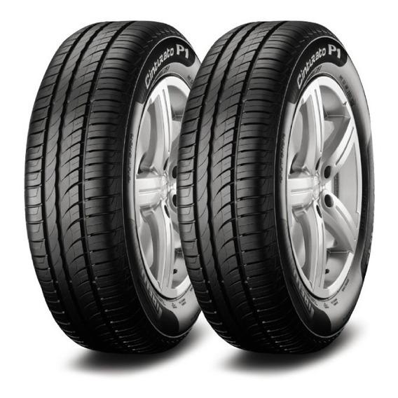 Kit X2 Pirelli 185/60 R15 H P1 Cinturato Neumen Ahora18