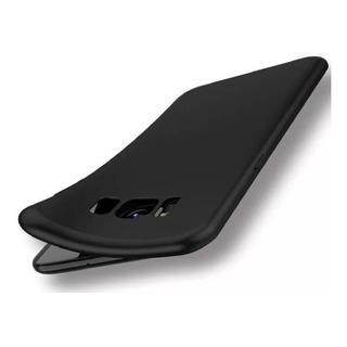 Funda Para Samsung Ultra Delgada + Vidrio Templado Full