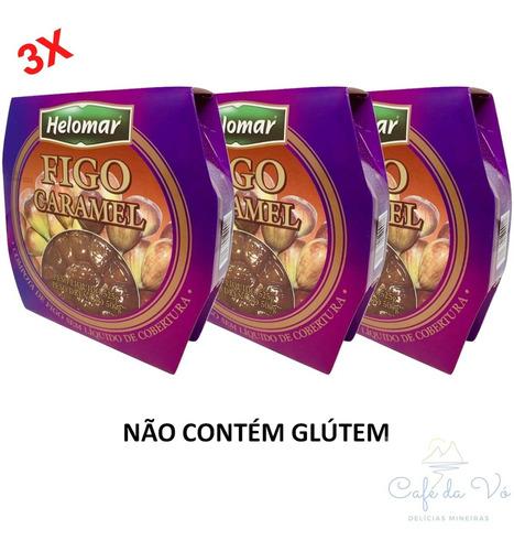 Doce De Figo Helomar Ramy Caramel Kit 3 Latas Pronta Entrega