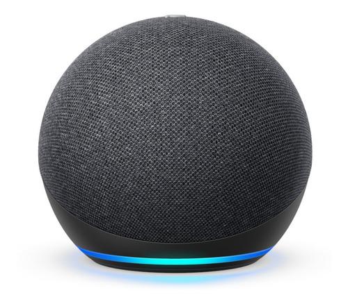 Smart Speaker Amazon Alexa Echo Dot 4 Preto Português Novo