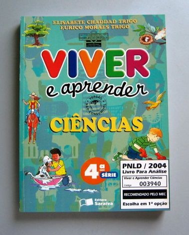Viver E Aprender Ciências - 4a Série - Trigo E Trigo Original