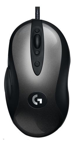 Mouse De Juego Logitech Legendary G Series Mx518 Negro Y Plata