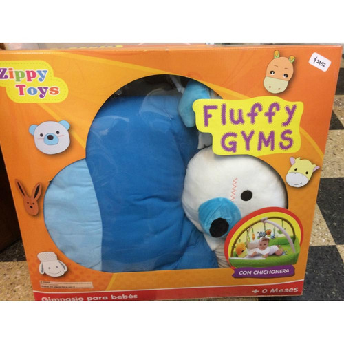 Gimnasio Con Chichonera Fluffy Gyms Zippy Toys Original !!!