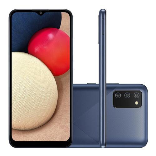 Smartphone Samsung Galaxy A02s Tela 6.5 32gb 3gb Ram Azul