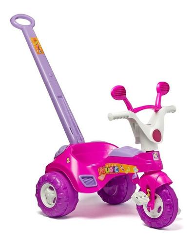 Triciclo Cotiplás Music Rosa