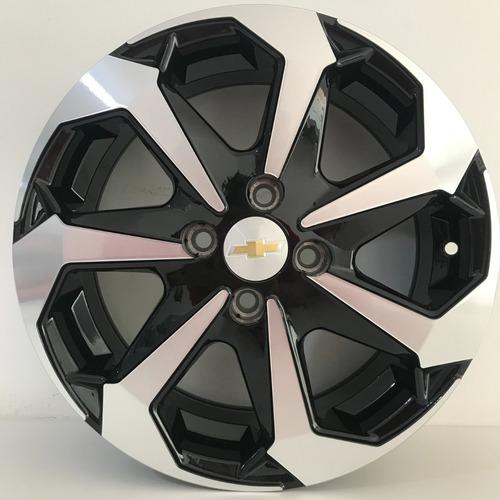 Roda Tarântula Aro 14 Gm Celta Onix (jogo) + Bicos