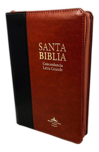 Biblia Reina Valera Bicolor Letra Grande Concordancia Indice