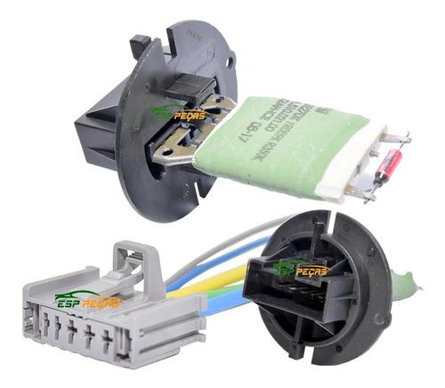 Resistência Ar Condicionado + Conector Peugeot 206 207 Orig