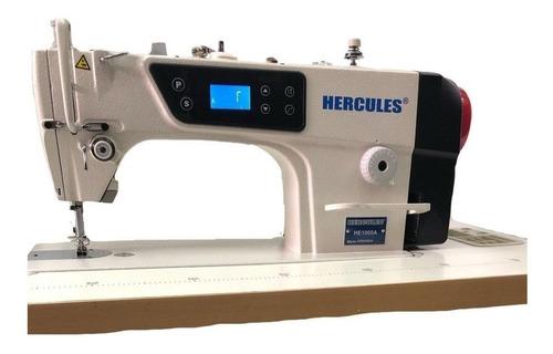 Máquina De Coser Industrial Hércules He1000a Blanca 110v