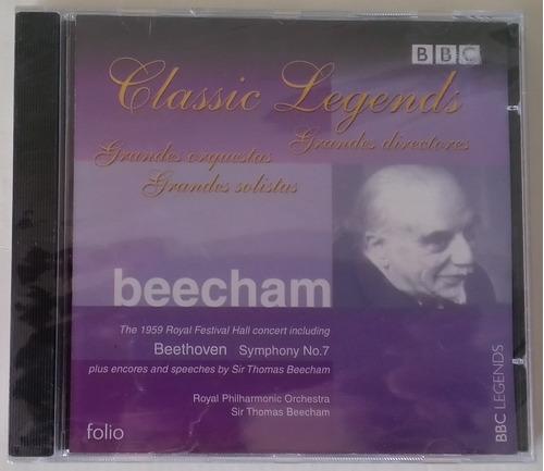 Cd - Grandes Directores Bbc - Beecham - Beethoven Sinfonia 7