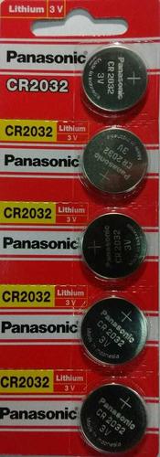 Pila Cr-2032 3v Panasonic Blister X 5 Tribunales, Obelisco.