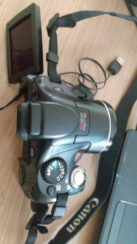 Vendo Camera Proficional Canon Sx40 Hs