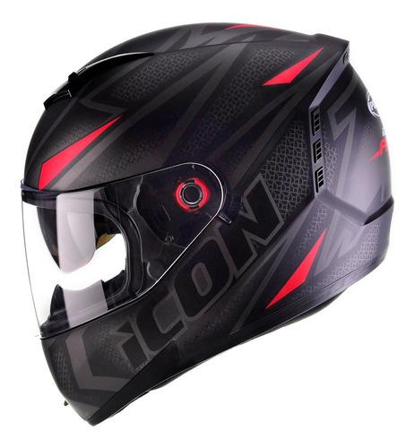 Capacete Moto Peels Icon Fast Com Óculos Interno Nf