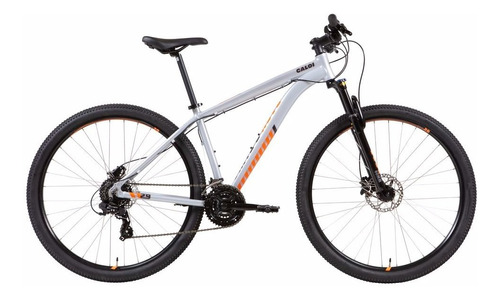 Bicicleta Mtb Caloi 29 Aro 29 - 21 Velocidades - Prata