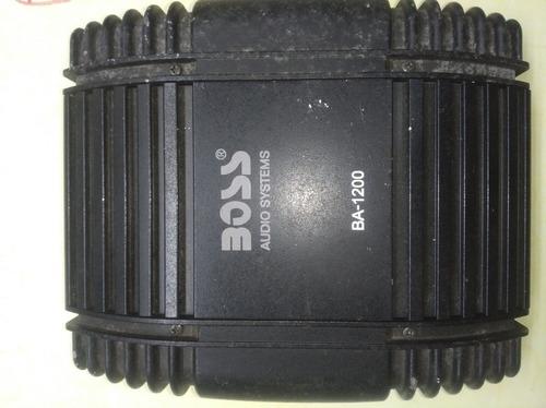 Planta Boss Ba-1200 Operativa Sin Uso.