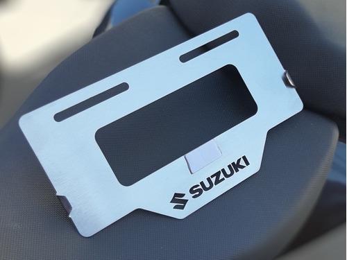 Porta Placa Protector De Placa Suzuki Gixxer Gsxs Gsxr 150