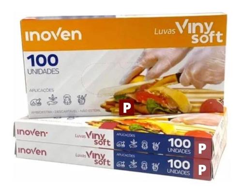 Luva Viniflex Descartável Procedimentos Sem Pó C/ 100 Un