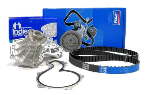 Kit Distribucion + Bomba De Agua Skf Vw Gol Power 1.6 Nafta