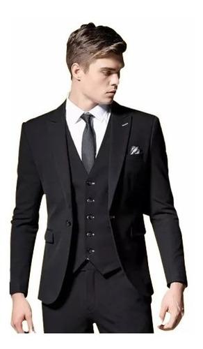 Kit Social Completo Paleto+calca+colete+camisa+gravata*