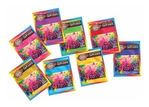 Combo De Polvo De Colores 50grs × 10 Bolsitas - Cienfuegos