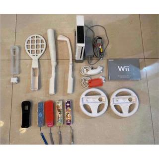Nintendo Wii Con Accesorios Impecable