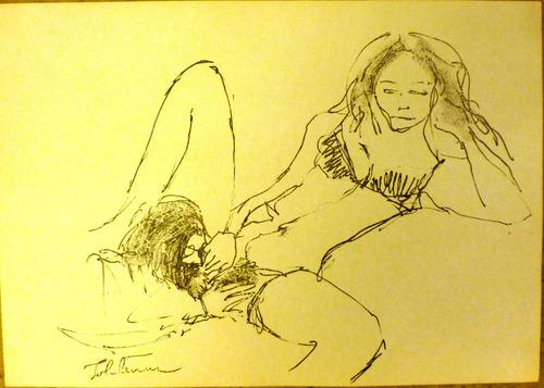 Litografía Erótica De John Lennon 1970