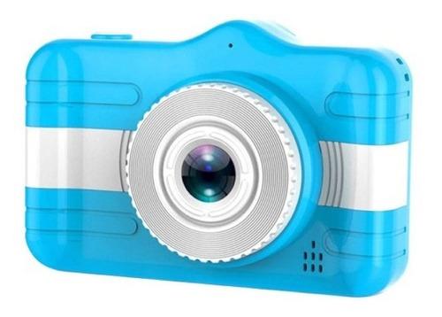 Mini Câmera Fotográfica Infantil Animação Cartão Memória 8gb