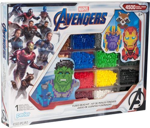 Perler Set Avengers Marvel 4500 Unid. Iron Man Hama Beads