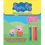 Peppa Pig Histórias Para Colorir Com Adesivos