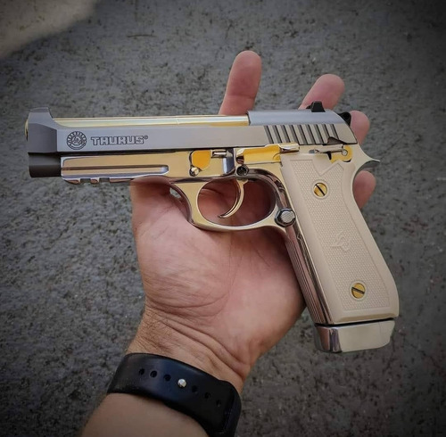 Kit Ouro Pistola Taurus Ou Imbel