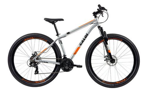 Bicicleta Mtb Caloi Two Niner Alloy Aro 29 - 17'' - Prata