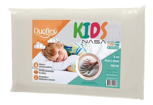 Travesseiro Infantil Antialérgico - Nasa Kids Duoflex