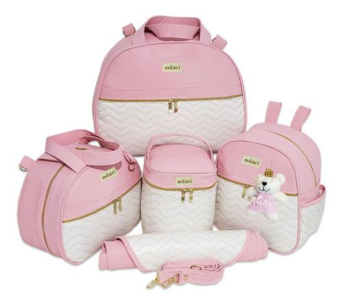 Kit Bolsas De Bebê Bolsa Maternidade Menina Menino Presente