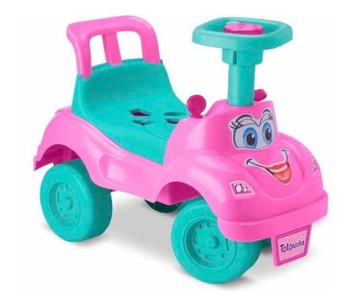 Totoka Triciclo Infantil Bebe Motoca Totokinha Rosa Cardoso