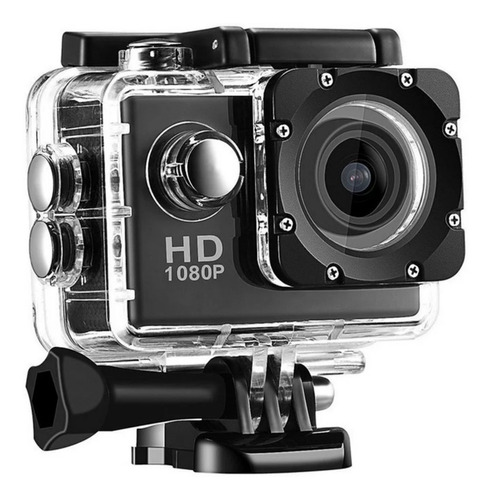 Mini Câmera Filmadora Sportes Hd 1080p Carro, Moto Capacete