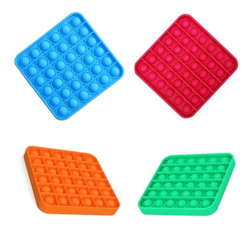 Pop It Fidget Brinquedo Bolha Anti Stress Ansiedade Autismo