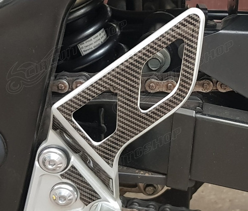 Protetor Adesivo Pedaleira Relevo Moto Suzuki Bandit 650 S N