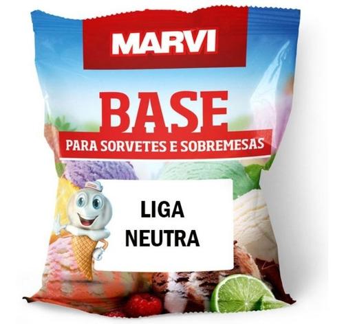 Liga Neutra M10 Para Sorvetes Picolés Marvi - 1kg