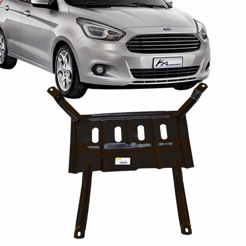 Protetor Cárter Peito Aço Ford Ka 1.0 1.5 2015 A 2020 Todos