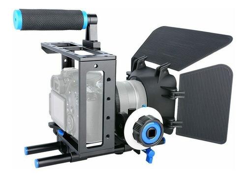Kit Mattebox + Follow Focus + Estabilizador Ombro + Gaiola