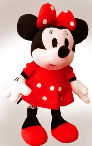 1 Boneca De Pelúcia Minnie Laço Vermelha Musical