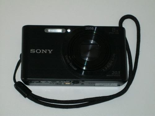 Sony Cyber-shot Dsc-w830 Compacta Cor Preto Zoom 8x