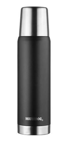 Termo Waterdog Obus De Acero Inoxidable 1l Black