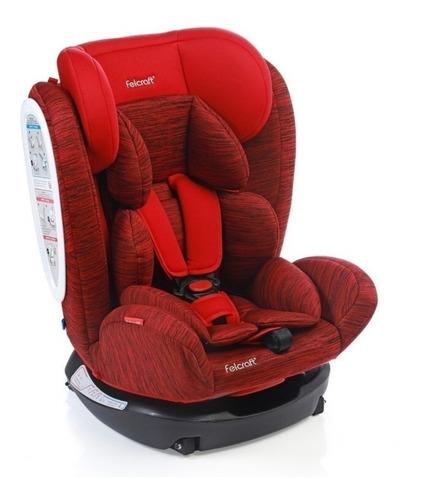 Butaca Infantil Para Auto Felcraft Z-26 Rojo