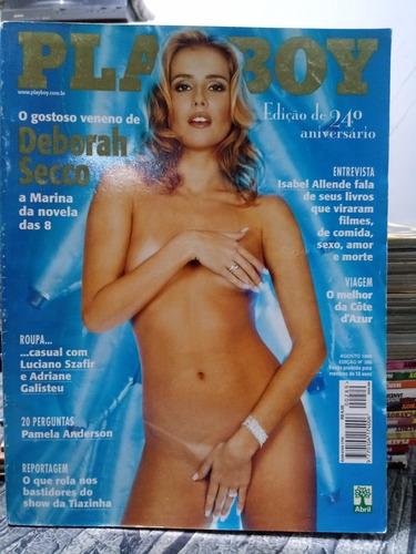 Playboy Número 289 Ago 1999 Especial 24 Anos - Débora Secco
