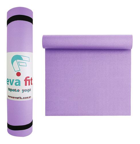 Tapete Yoga Colchonete Fitness Ginastica 170x60cm Com Alça