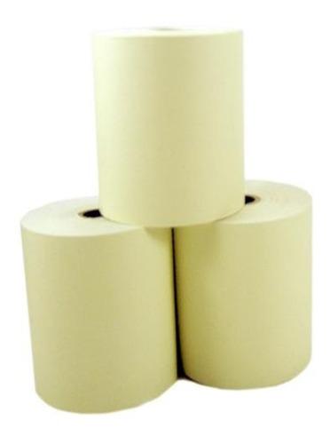 Bobina Térmica 80x40 - Caixa Com 30 Rolos - Amarela
